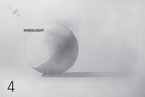 Drawn spheric easy The Shade the Form) Sphere