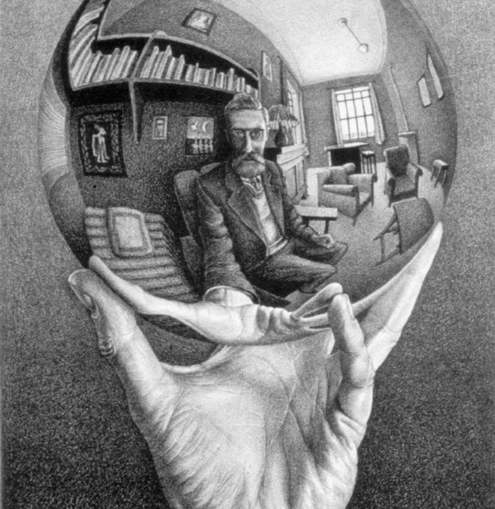 Drawn spheric escher SPHERES Crosbie: SPHERES Mrs