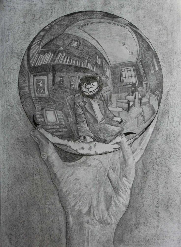 Drawn spheric escher Ft best ValerieAnn Pinterest C