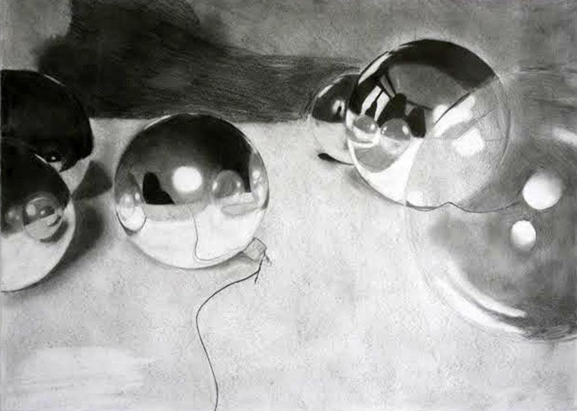 Drawn spheric orb American Sphere Taipei Drawing Department