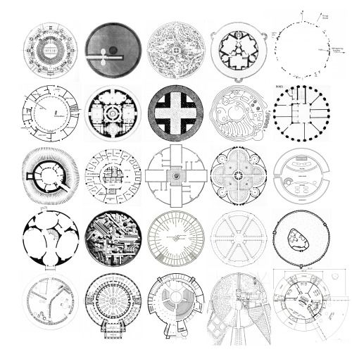 Drawn spheric stone circle 12 Palace Pinterest on Left