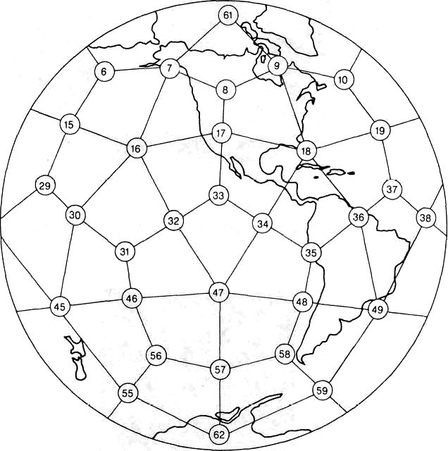 Drawn spheric stone circle 97 Structures on images Some
