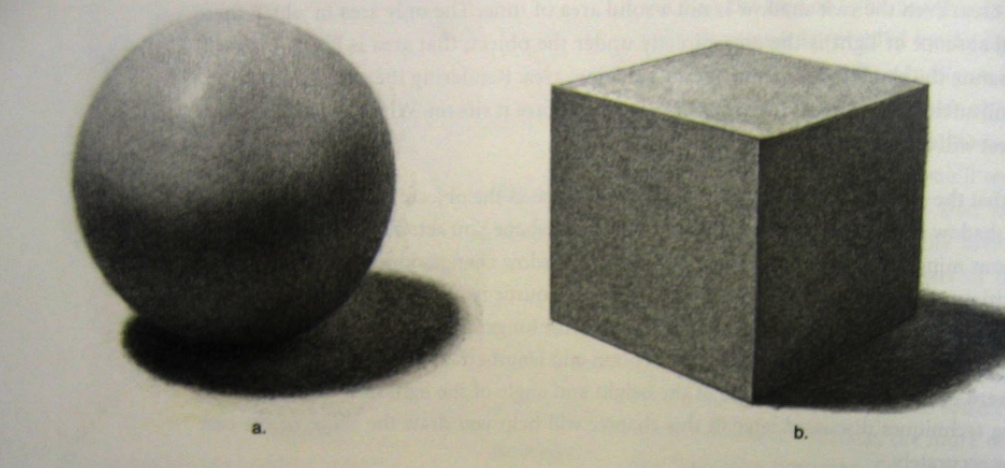 Drawn spheric tonal L13: and Cube Learn shaded