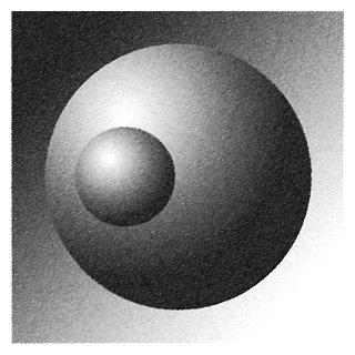 Drawn spheric tonal Tone Exercise Shading Pencil 8