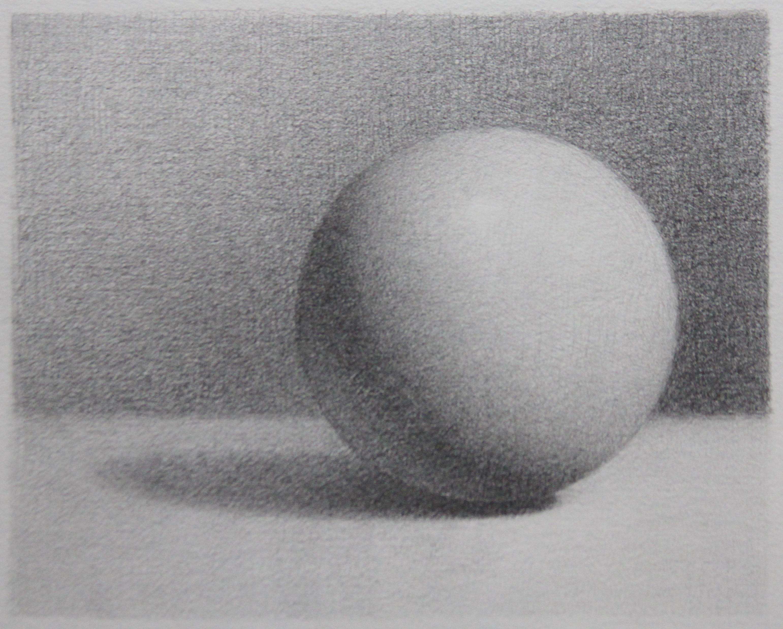 Drawn spheric value scale 1: Katrina Artifact Allen Values