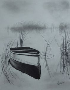 Drawn spheric water reflection Reflections Drawing Misty this more