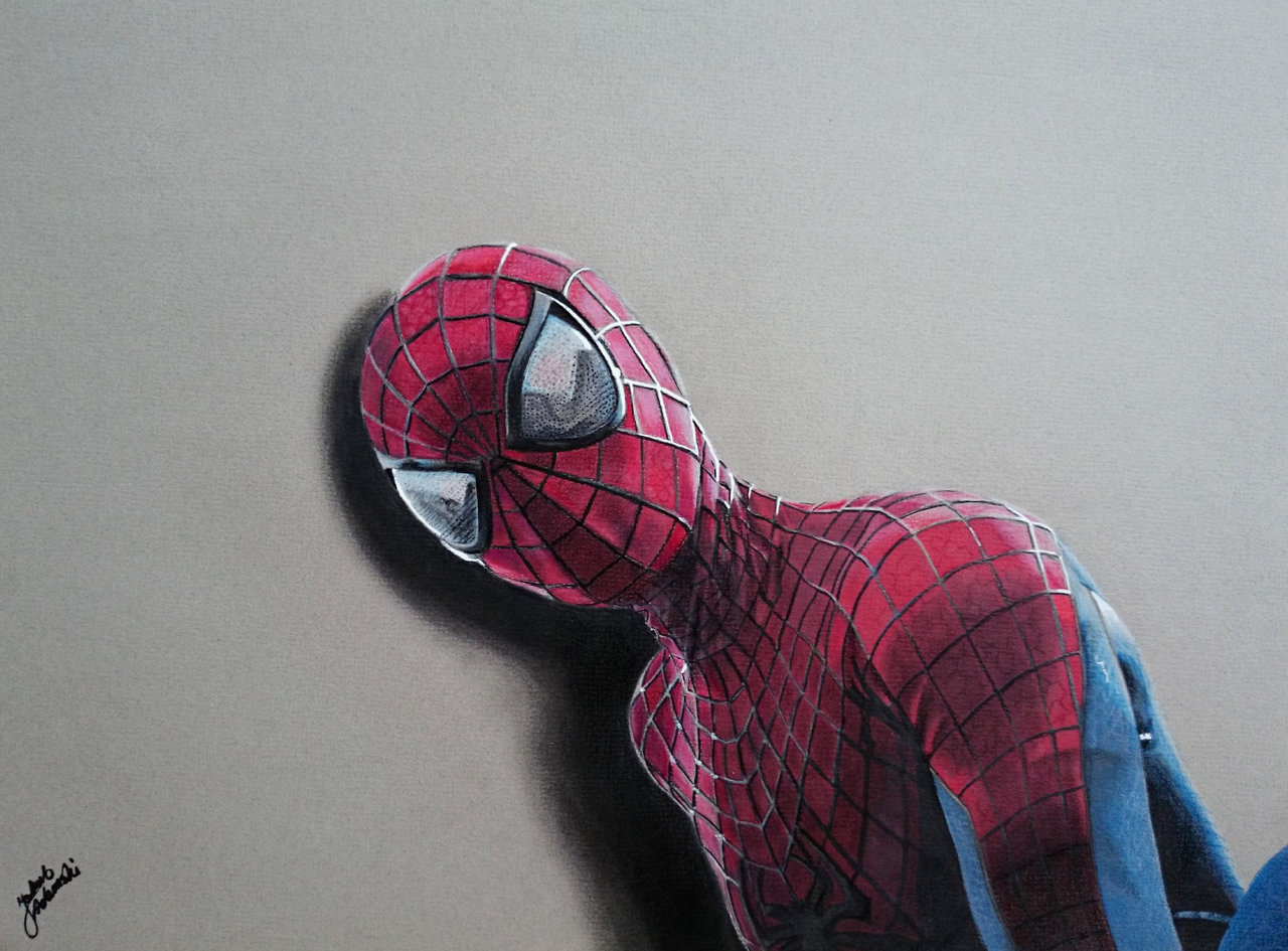 Drawn spider 3d design Drawing Drawing The Spider Amazing
