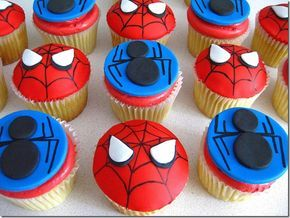 Drawn spider 3rd Ideas Cupcakes man Man 25+
