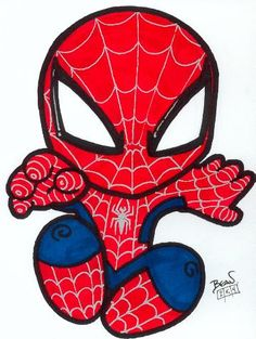 Drawn spider 3rd @deviantART Man Geek com is