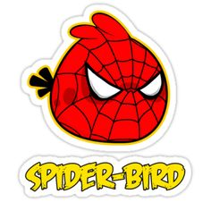 Drawn spider angry Santa Pinterest birds Friends Birds