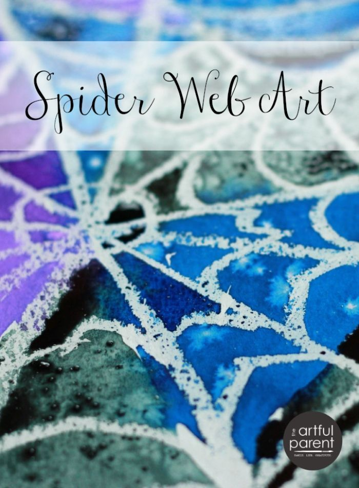 Drawn spider aqua Simple Watercolor Spider Beautiful) ideas