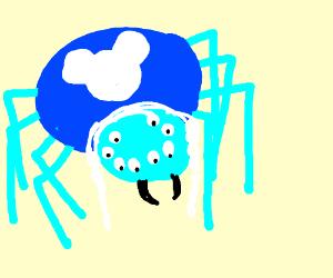 Drawn spider aqua By disney spider (drawing spider