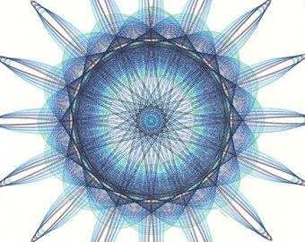 Drawn spider aqua Drawing Hand Intricate Artwork Supernova