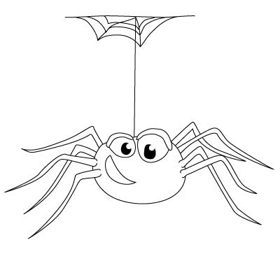 Drawn spider cartoon Pinterest images Drawing a spider