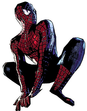 Drawn spider color To Man Draw Spider Step