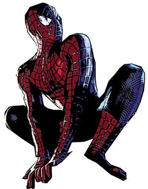 Drawn spider color #6