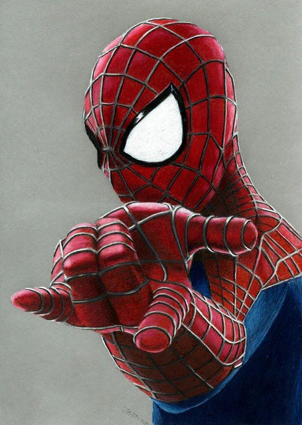 Drawn spider color #2