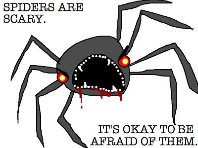 Drawn spider creepy spider Hyperbole spider its flesh is