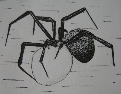 Drawn spider creepy spider Eh! and the that both