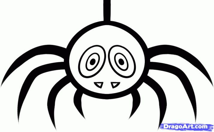 Drawn spider cute #14