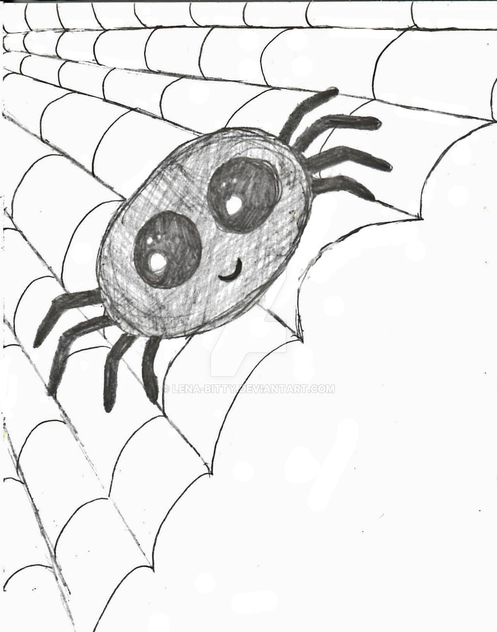 Drawn spider cute #3