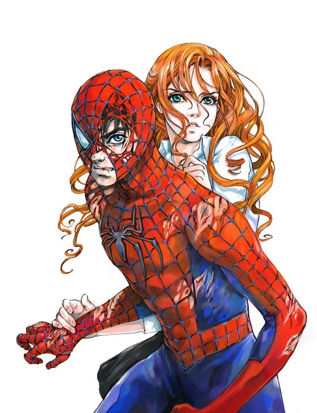 Drawn spider cute anime Better Man Jane better Everything