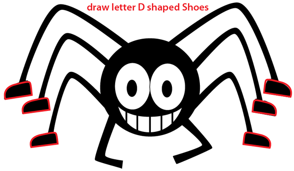 Drawn spider easy draw Step An 5 Drawing Drawing