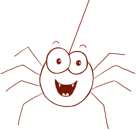 Drawn spider easy draw Photo#3 drawing Simple Simple Spider