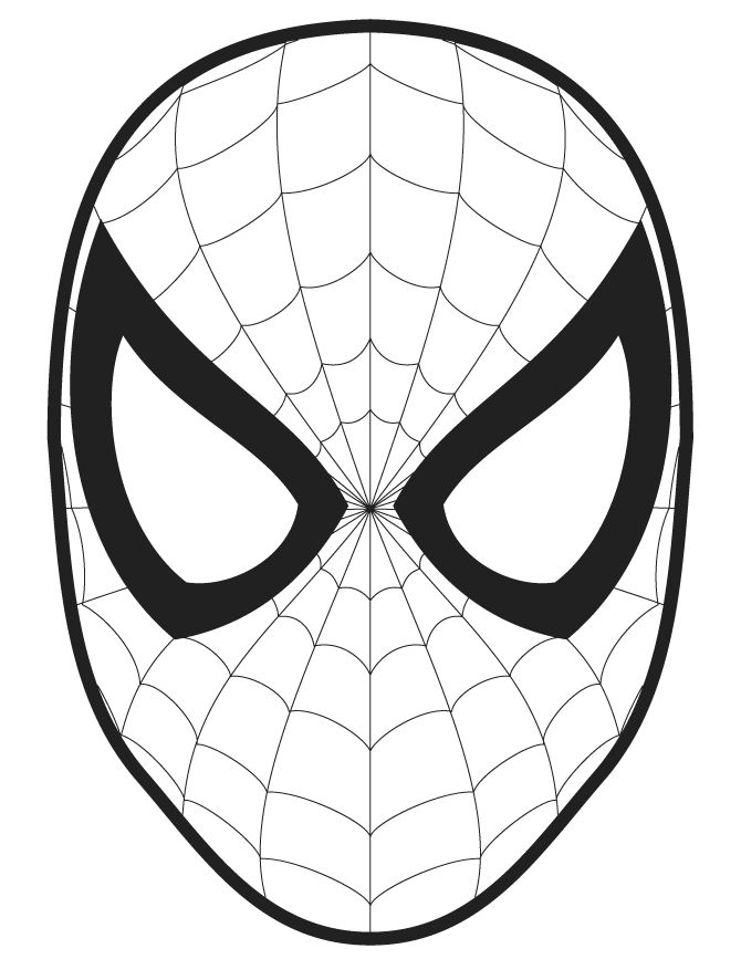 Drawn spider face Book out coloring similar ideas
