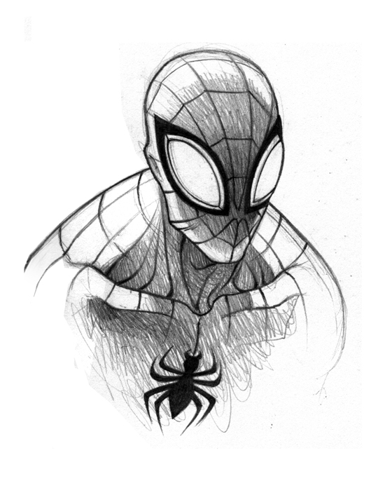 Drawn spider face Doodle Afoot spiderman  Pinterest