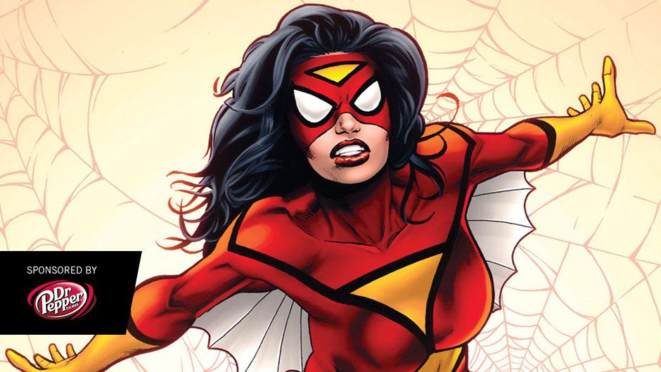 Drawn spider female Marvel com Spider SDCC Woman