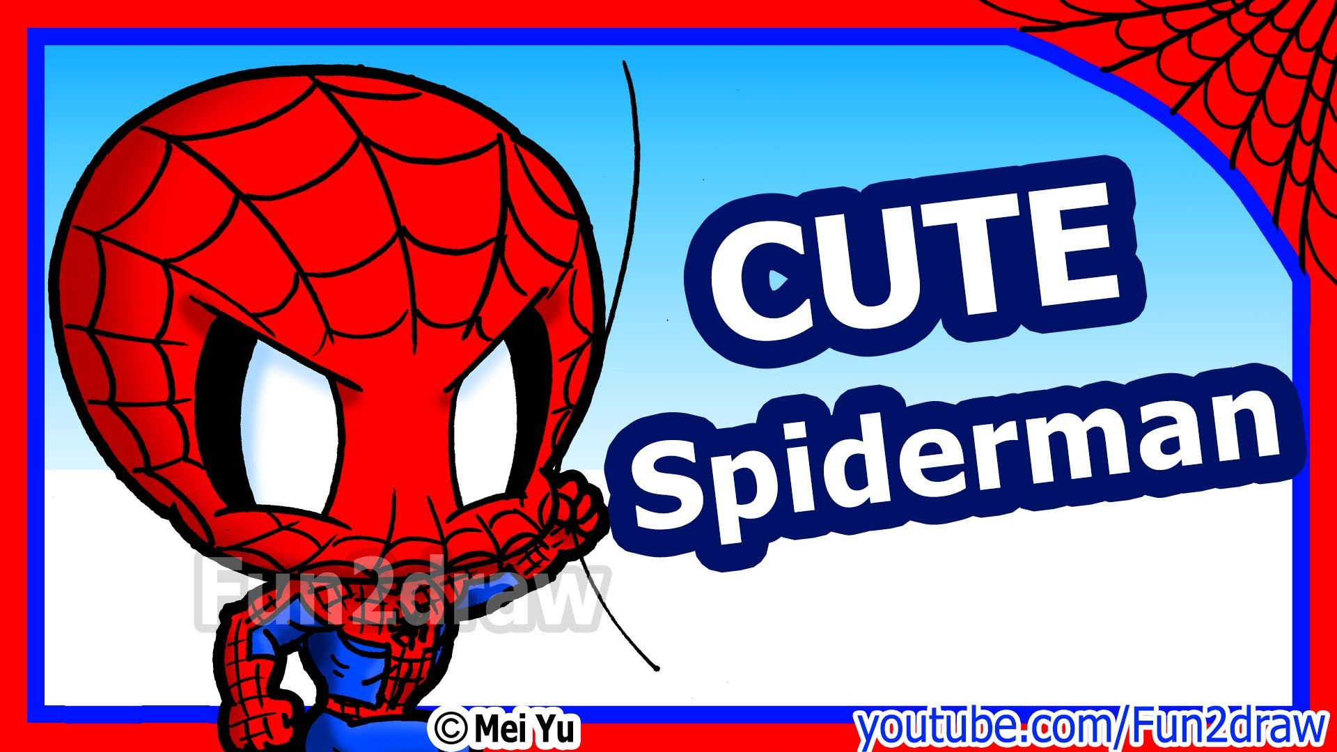 Drawn spider fun To Characters Spiderman Fun2draw YouTube