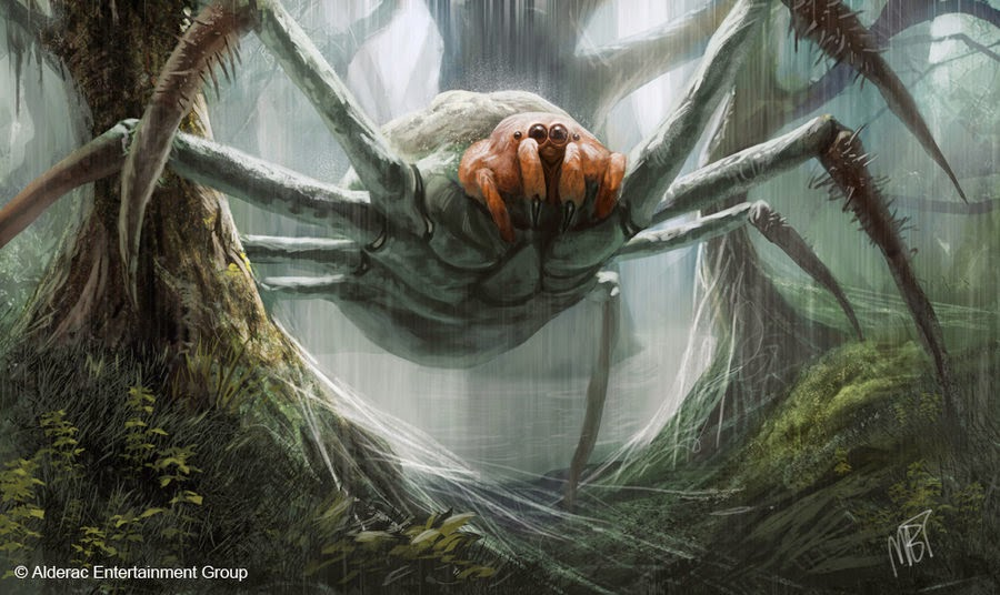 Drawn spider giant spider CHRONICLES SPIDERS SPIDERS GIANT GIANT