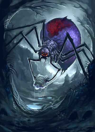Drawn spider giant spider #1