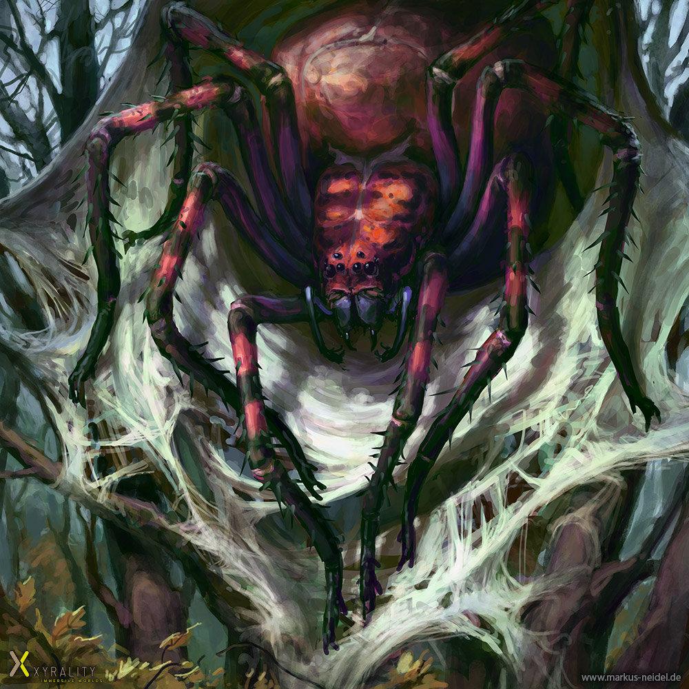 Drawn spider giant spider #11
