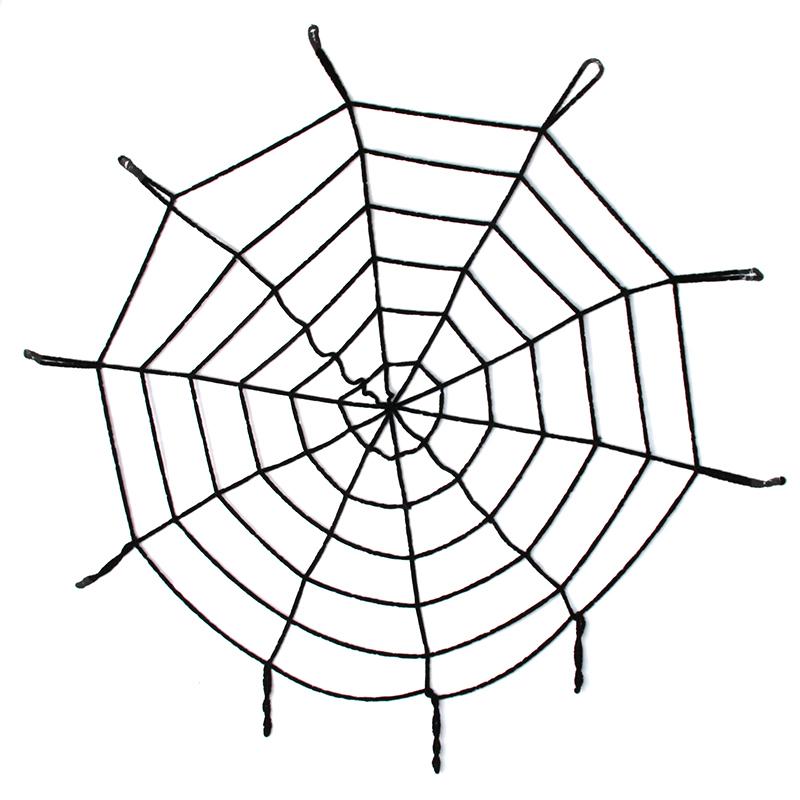 Drawn spider halloween decoration Decoration Black/White Popular Halloween Spider