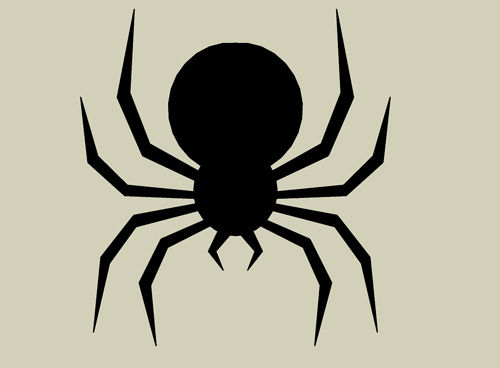 Drawn spider halloween decoration Dropping Making Cheap and Spider
