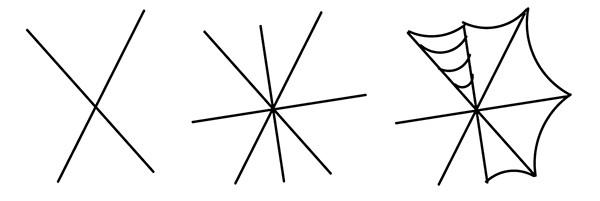 Drawn spider haloween Filled Pattern Hand Vectips Pattern