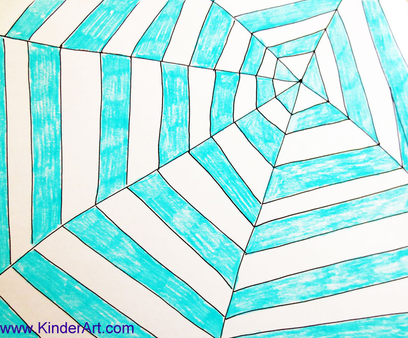 Drawn spider kid A KinderArt How to Lessons