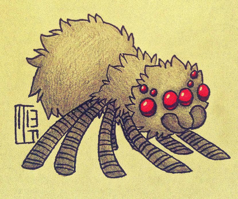 Drawn spider minecraft By on DeviantArt Spider Ferwildir