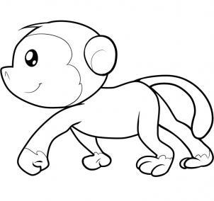 Drawn spider money Draw draw to for monkey