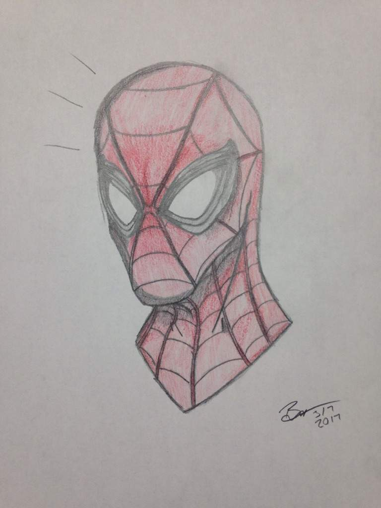 Drawn spider not My make So a this