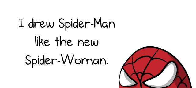 Drawn spider oatmeal Drew co/P0wDeG5Srj  Spider Twitter: