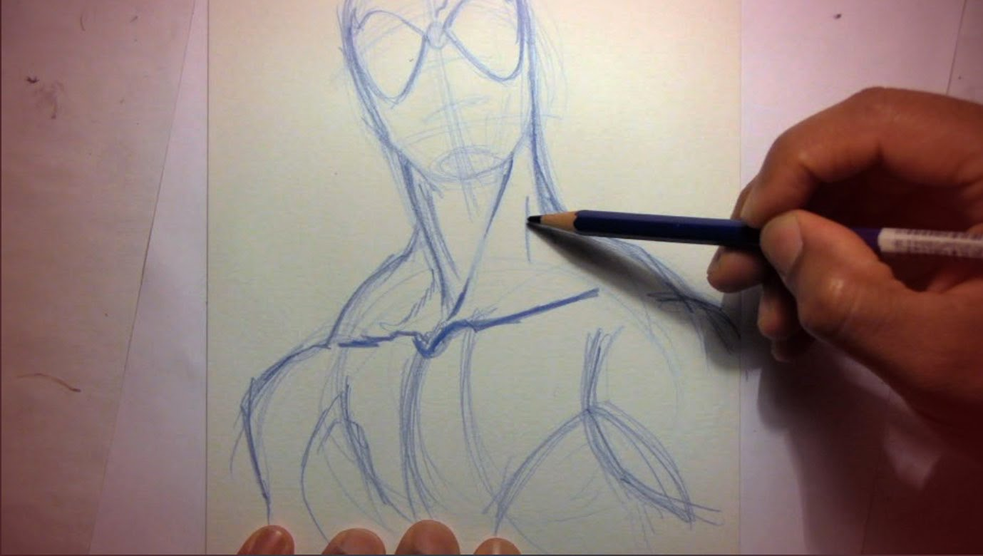 Drawn spider pencil To Pencils) YouTube Spider Draw