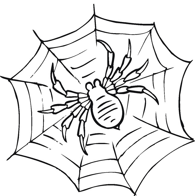 Drawn spider printable Black & Spider 55+ Crafts