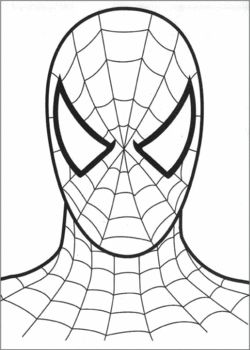 Drawn spider printable Spiderman Family Pages Pinterest Ideas