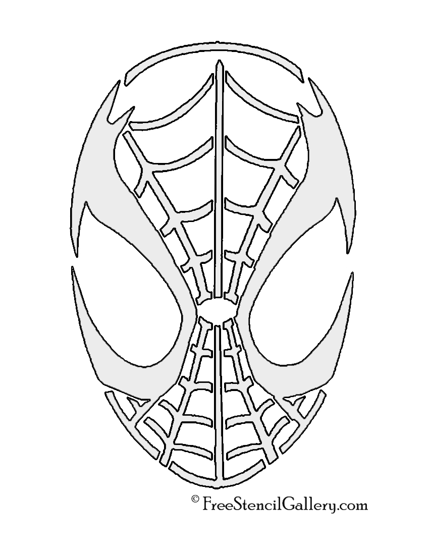 Drawn spider pumpkin carving Design Pumpkin Saw Pattern Kit