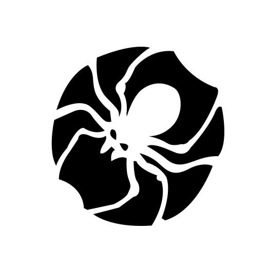 Drawn spider pumpkin carving #10