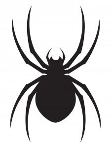 Drawn spider simple Bug Tattoo Spider Spider Silhouette
