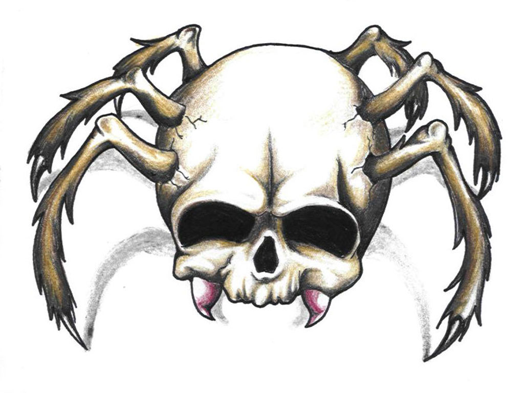 Spider Design Tattoos Blowing Mind